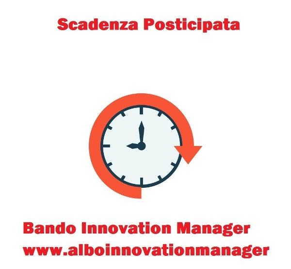 Scadenza bando Innovation Manager rinviata domanda compilazione Mise