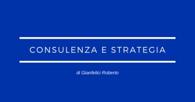 Consulenza e strategia Marketing comunicazione digitale web finanziaria internazionalizzazione formazione